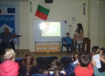 Проект Движение за здраве, плуване за удоволствие, спечелен от детска градина 25 Изворче в Банкя