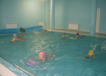 Проект Движение за здраве, плуване за удоволствие-детска градина 25 Изворче, Банкя