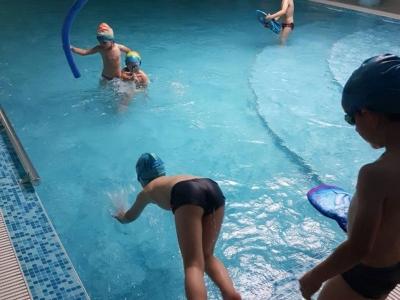 Плувам и се забавлявам-проект на ДГ 25 Изворче, Банкя