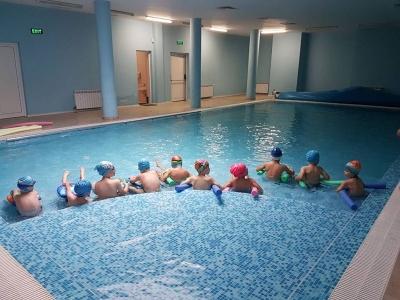 Проект Плувам и се забавлявам, спечелен от детска градина 25 Изворче в Банкя
