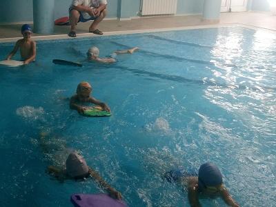 Смело във водата-проект на Детска градина 25 Изворче в Банкя