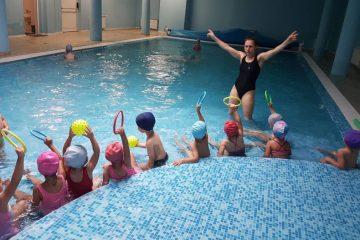Проект Плувам и се забавлявам в детска градина 25 Изворче в Банкя